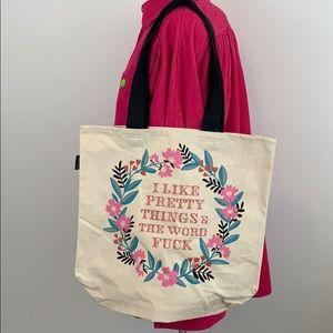 Handbags - I like Pretty Things Reusable Tote Bag